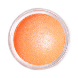 Fractal SuPearl Ételdekorációs Selyempor Serengeti Orange - Fénylő Vénusz - 2 g